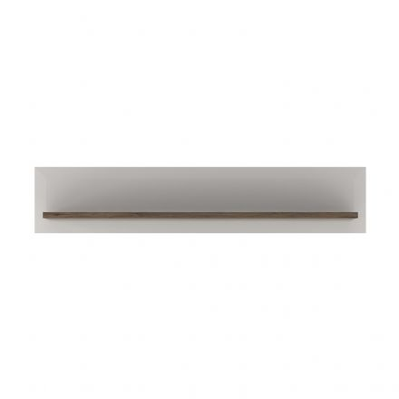 Toronto 125 or 165cm Wall shelf